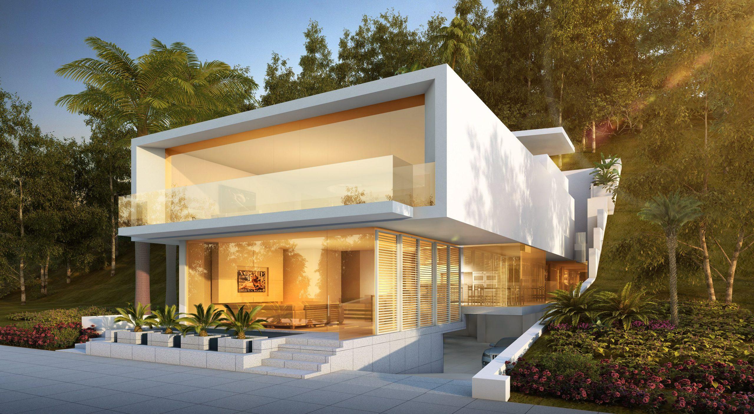 Architect Orange County - Architect Newport Beach - Architect Laguna Beach - Romantic Modernism - Geoff Sumich