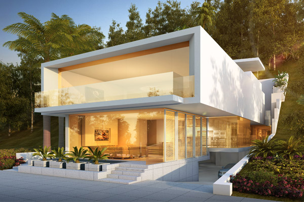 Architect Orange County - Architect Newport Beach - Architect Laguna Beach - Romantic Modernism - Geoff Sumich