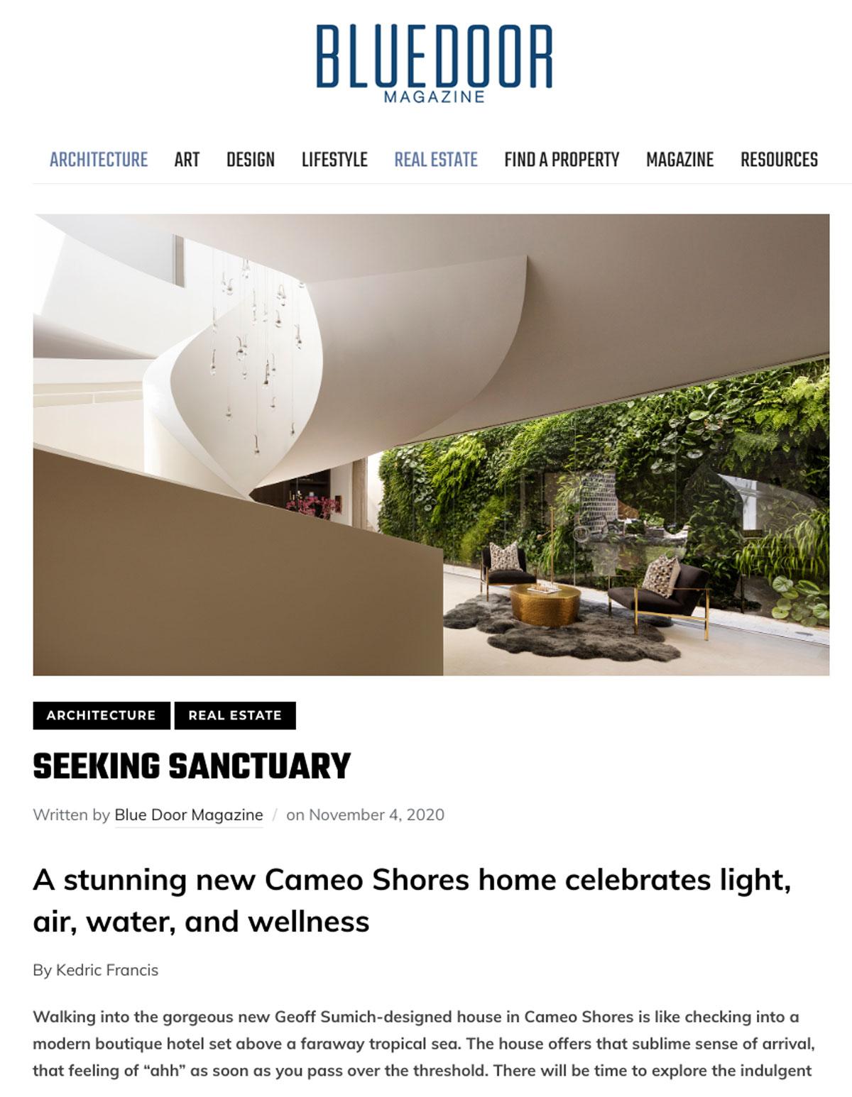 Geoff Sumich design - Architect Orange County - Architect Laguna Beach - Romantic Modernism - Architect Newport Beach